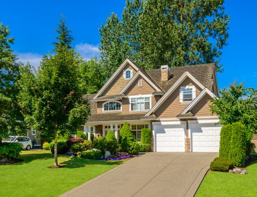 Curb appeal—it's what sells a home